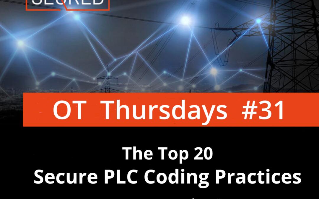 The Top 20 Secure PLC Coding Practices. Part 1 – Introduction