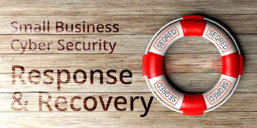 Small Business Cyber Security Response & Recovery