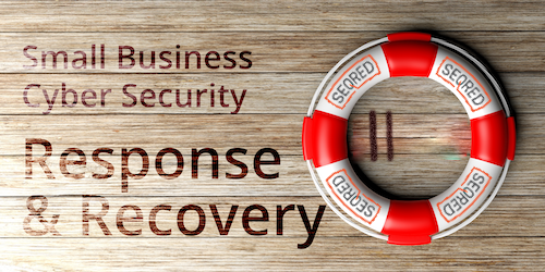 Small Business Cyber Security Response and Recovery. Part III - Identify what's happening