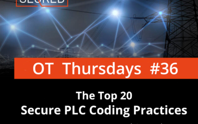 The Top 20 Secure PLC Coding Practices. Part 6 – Use cryptographic and / or checksum integrity checks for PLC code