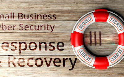 Small Business Cyber Security Response and Recovery. Part IV – Resolve the incident